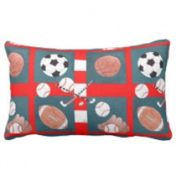 five sports lumbar pillow