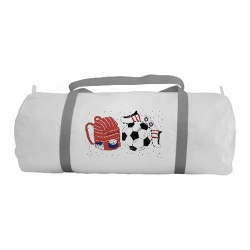 girls soccer duffel bag