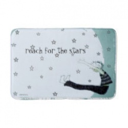 reach for the stars bathmat