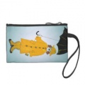rainy day metro beagle coin purse