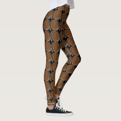 cinnamon swirl leggings