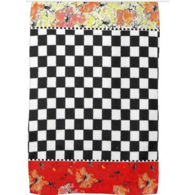all color combinations of checkered towel