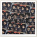beatles fab four paper napkin