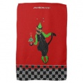 holiday jester cat kitchen towel