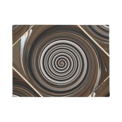 coffee swirl doormat