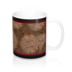 Right View of Bicycle Mug