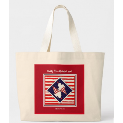 Front View of Tote Bag