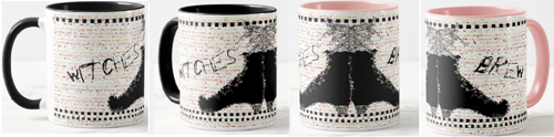the witches of polka dot junction coffee mug